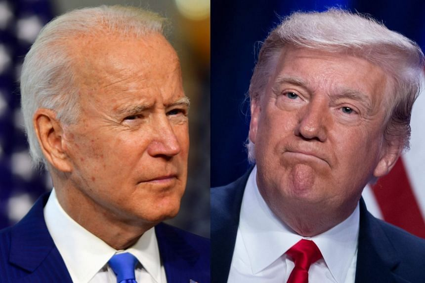 The debate in Cleveland, Ohio, will be the first time Biden (left) has faced off against Trump (right).