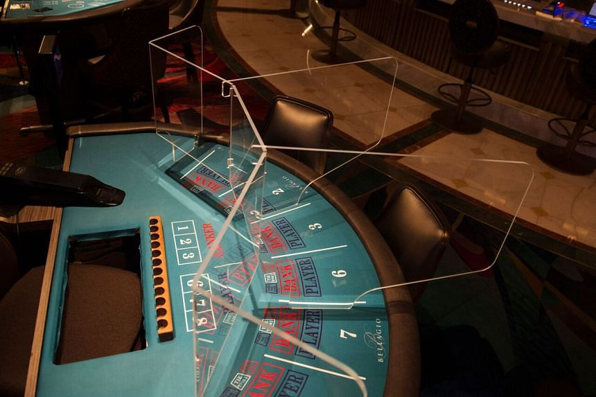 Gambling revenue has dropped about 40 per cent so far in 2020.