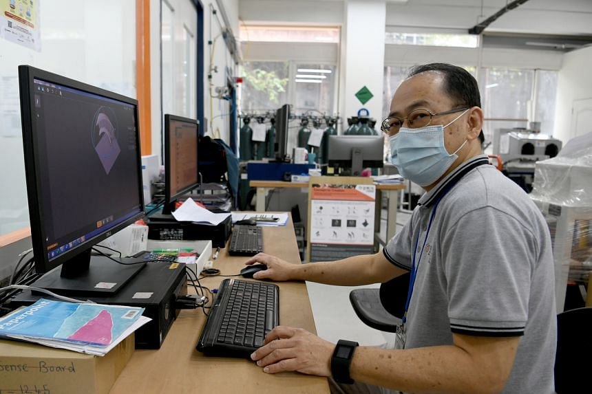Mr Tim Tan found a job at 3D Metalforge as an operations manager.