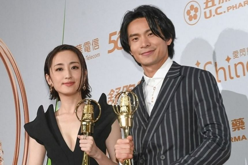 Alice Ko and Jack Yao Chun-yao took home the best actress and actor awards respectively at the Golden Bell Awards on Sept 26.