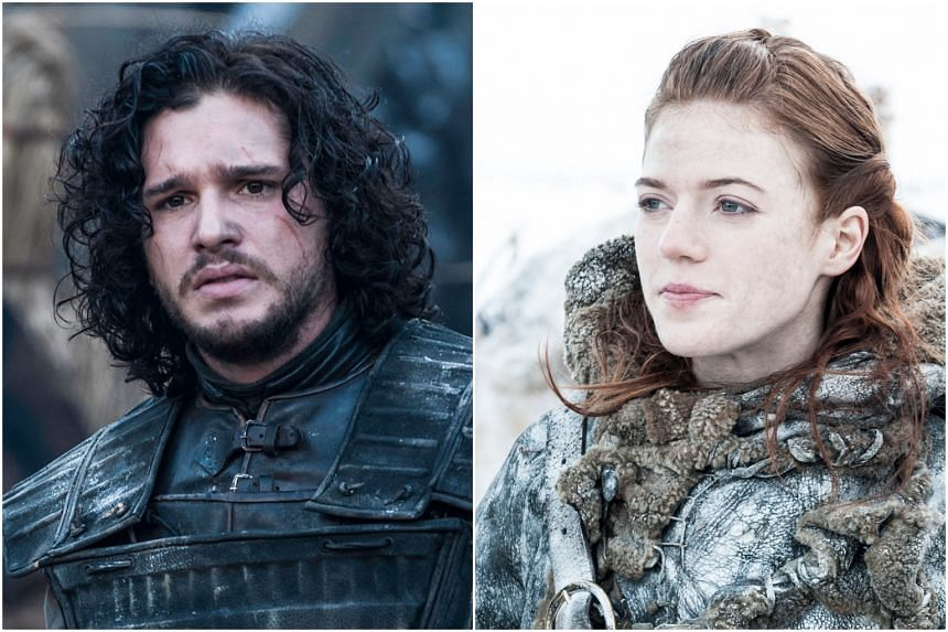 The two had met on the set of Game Of Thrones in 2012