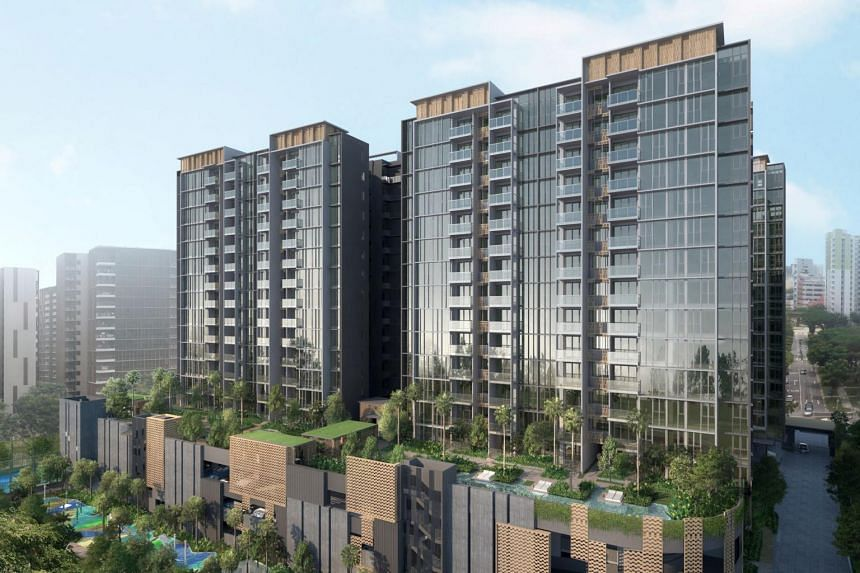 The units at Penrose condominium were sold at prices starting from $788,000 for a one-bedroom apartment.