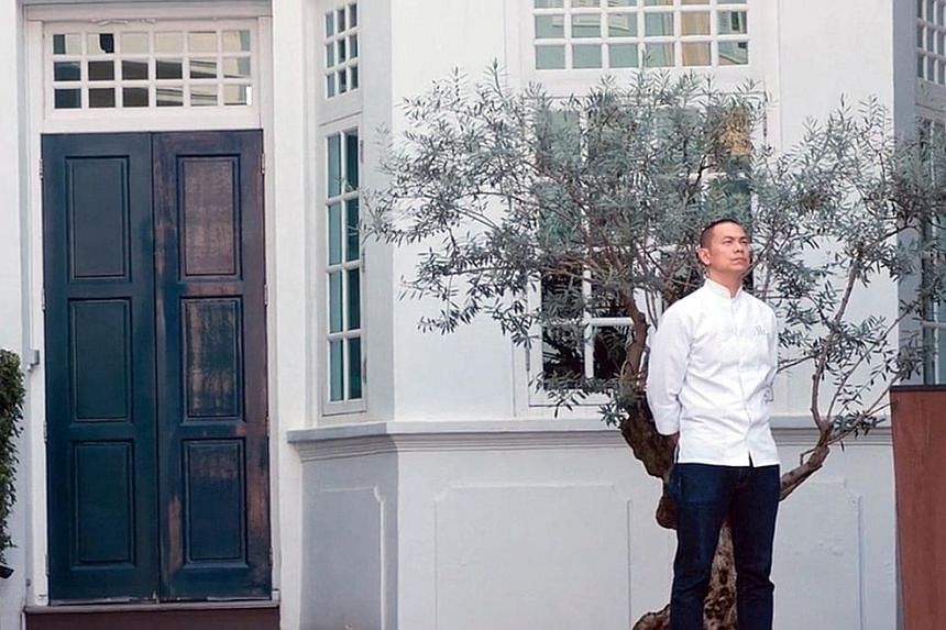 """The documentary Andre & His Olive Tree features emotional scenes from 2017 when chef Andre Chiang (left) made the """"shock announcement"""" to close his restaurant in Singapore."""