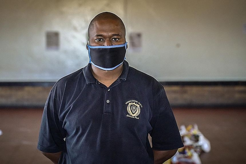 Mr Leonardo Green is serving and uplifting his community even amid the pandemic. The chairman of a neighbourhood watch in Johannesburg helps enforce lockdown regulations and assists with food parcels for the hungry.