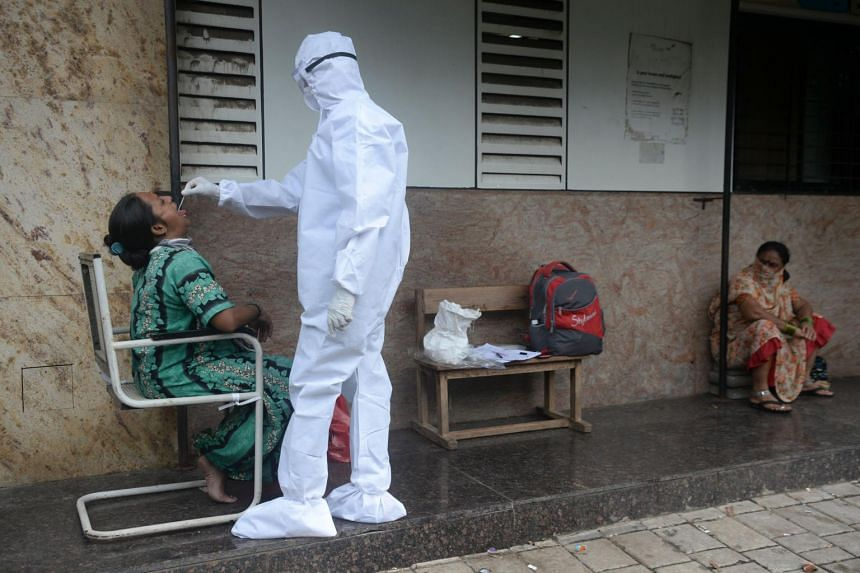 India's coronavirus case tally topped 6 million after it reported 82,170 new infections in the last 24 hours.