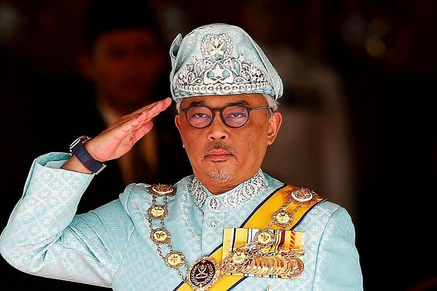 Malaysian King Sultan Abdullah is currently recovering at a hospital.