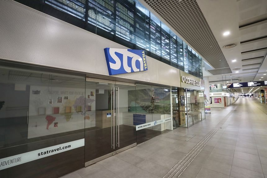 STA Travel stopped operating on Sept 9, after its parent company based in Switzerland filed for insolvency in August.
