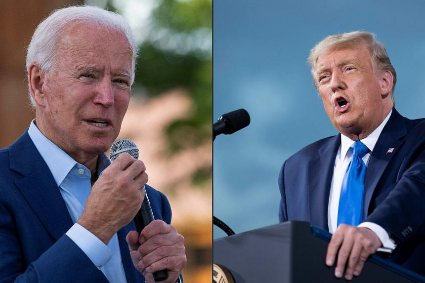 Former vice-president Joe Biden is pitching himself as the anti-Trump who will bring decency, compassion and unity back to America.