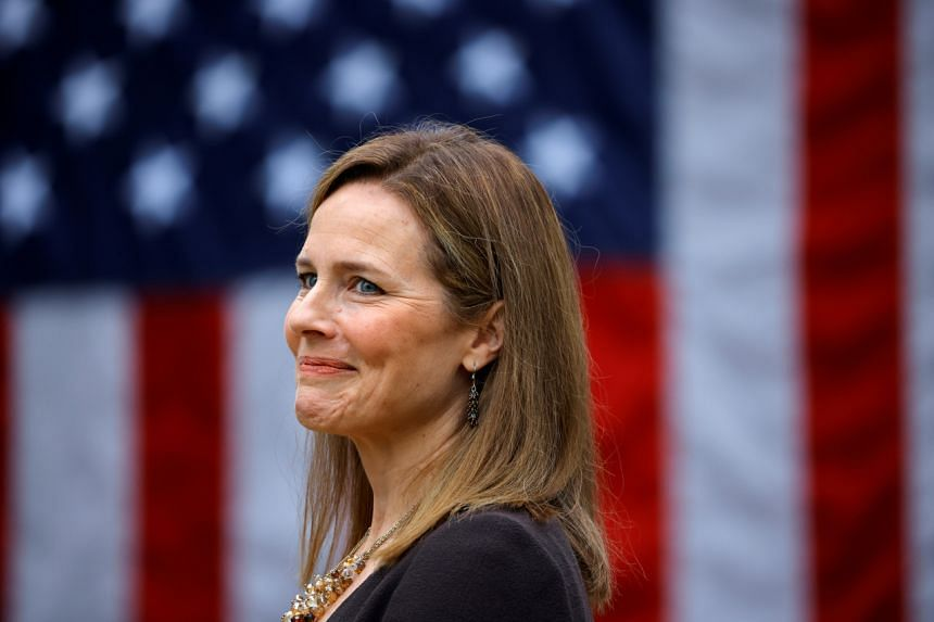 Judge Amy Coney Barrett was announced as the nominee to Supreme Court by US President Donald Trump.