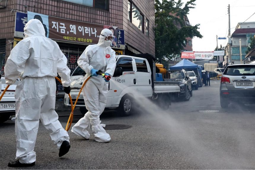 South Korea on Monday reported 50 new coronavirus cases, the lowest since a new wave of outbreaks emerged last month.