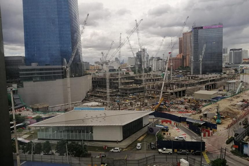 The Exchange TRX mall, currently under construction, is scheduled to open in 2022.