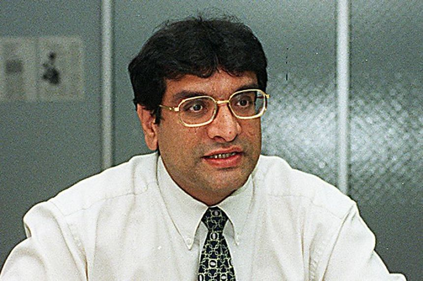 Zaminder Singh Gill  in a 1998 photo. Gill pleaded guilty to five counts of criminal breach of trust as an attorney.