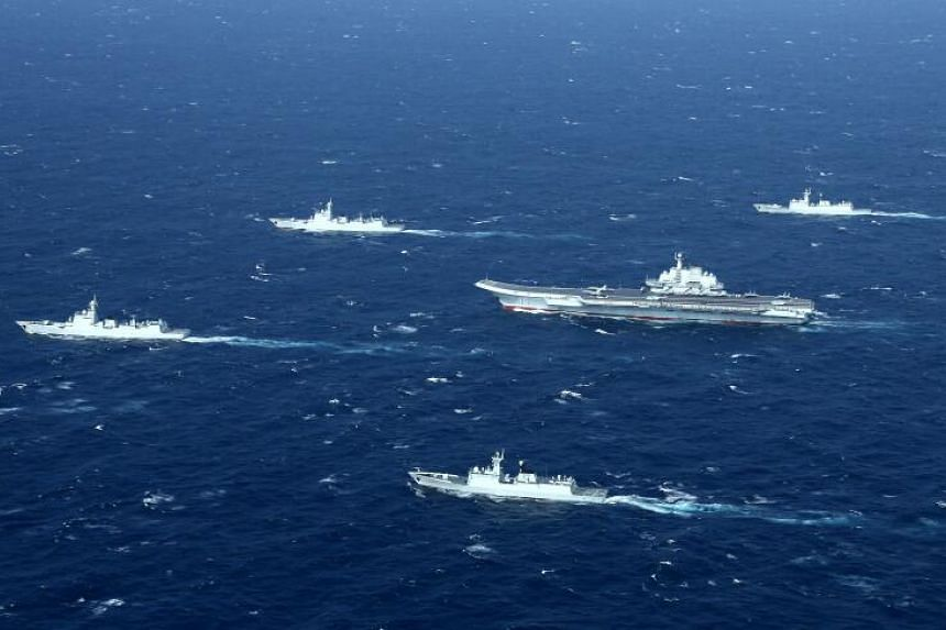 China holds military drills periodically, but rarely do multiple exercises happen at the same time.