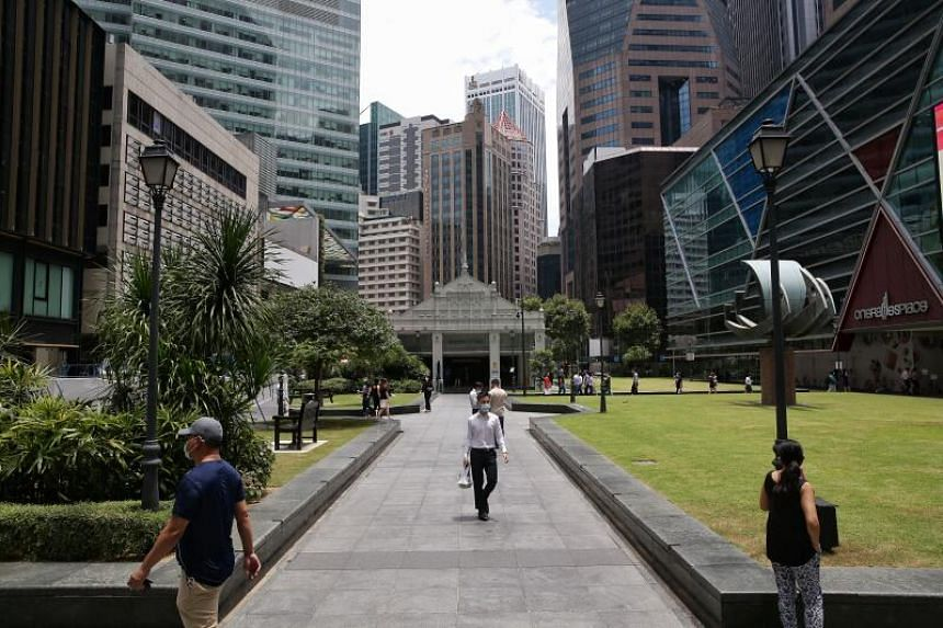 Singapore's gross domestic product shrank by 13.2 per cent year-on-year in the second quarter.