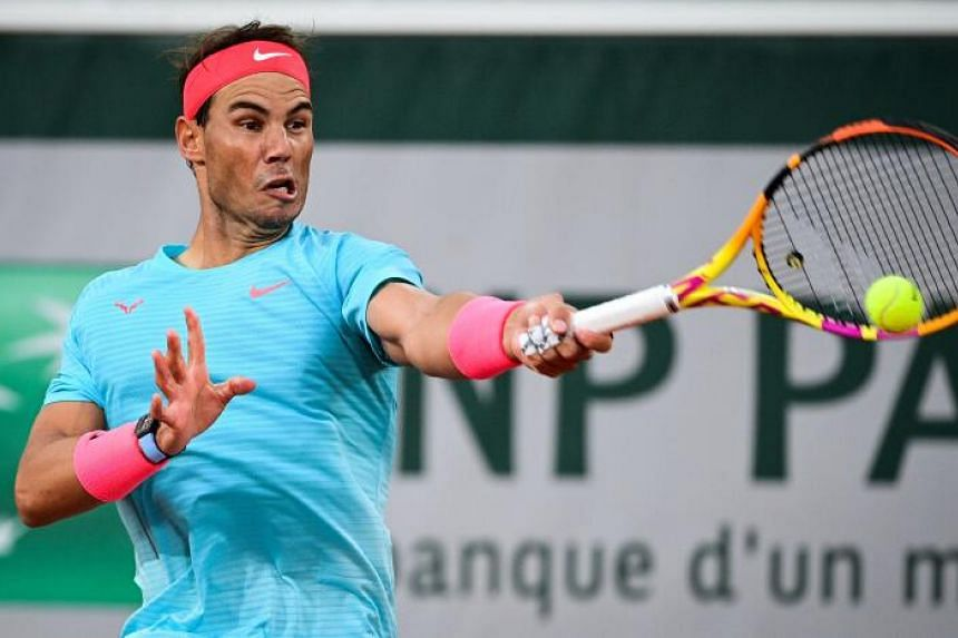 Tennis Record Chasing Nadal Eases Into French Open Second Round Tennis News Top Stories The Straits Times