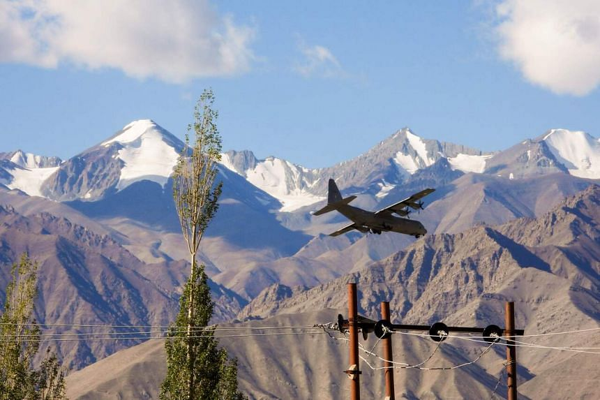 Tensions along the India-China border spiked in June after soldiers on both sides were killed in a violent clash in Ladakh.