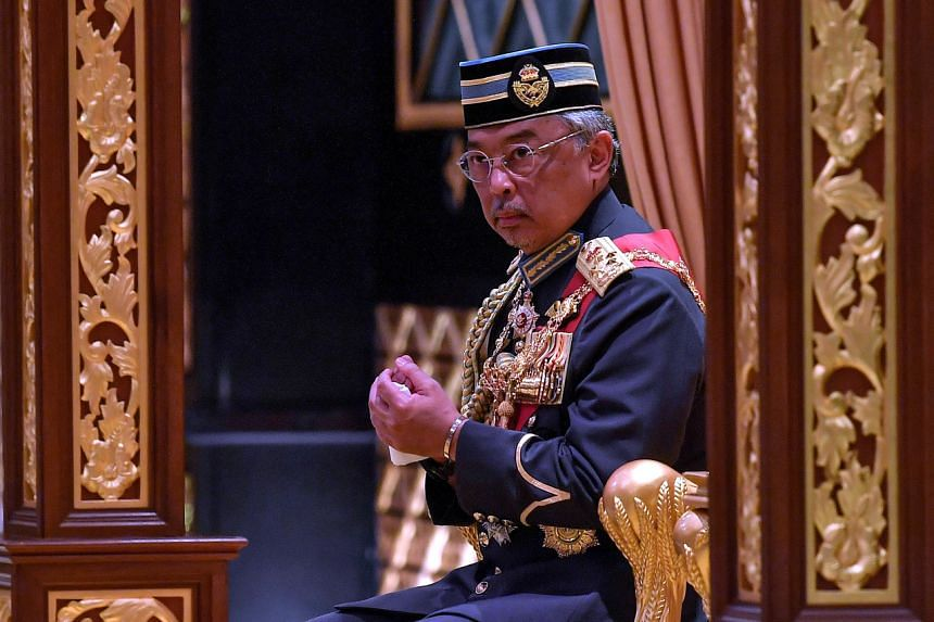 Malaysia's King Sultan Abdullah will not be granting an audience to anyone for a week, as he is under observation at a hospital.