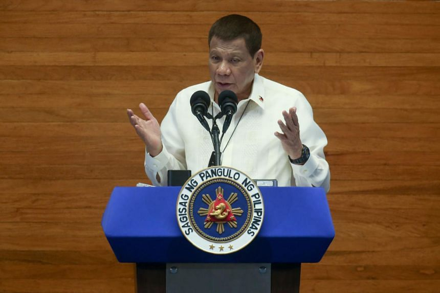 Philippines' Duterte calls out Facebook after accounts taken down