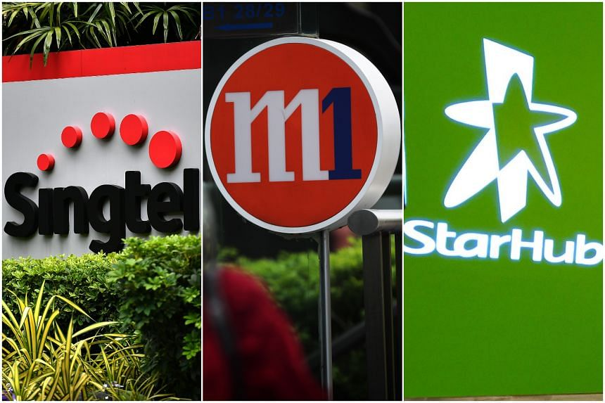 Singapore's 5G networks will be built by Singtel and, separately, a joint venture between StarHub and M1.