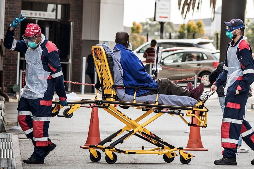 Hospitals in many African countries say Covid-19 admission rates are falling.