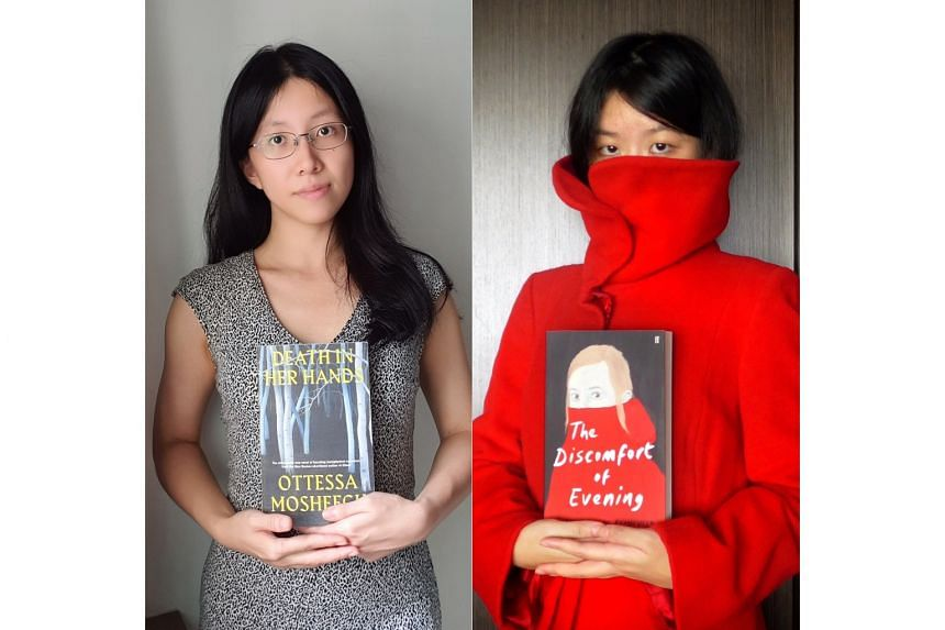 Journalists Toh Wen Li (left) and Olivia Ho (right).