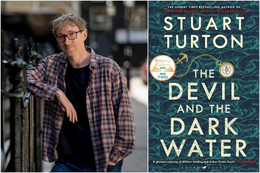 British novelist Stuart Turton began writing The Devil And The Dark Water (right) two weeks after his daughter was born and finished it just after her second birthday.
