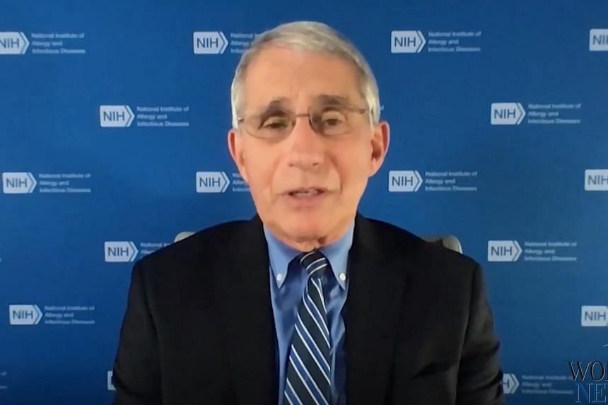Dr Anthony Fauci stressed that the media has a crucial role to play in spreading accurate information.
