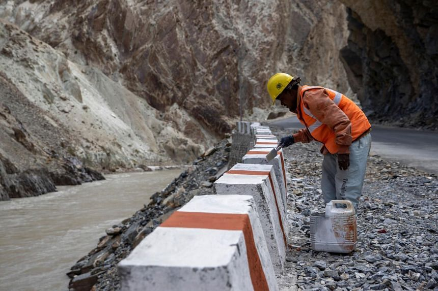 The 283km-long Nimmu-Padam-Darcha highway is expected to be completed in three years.