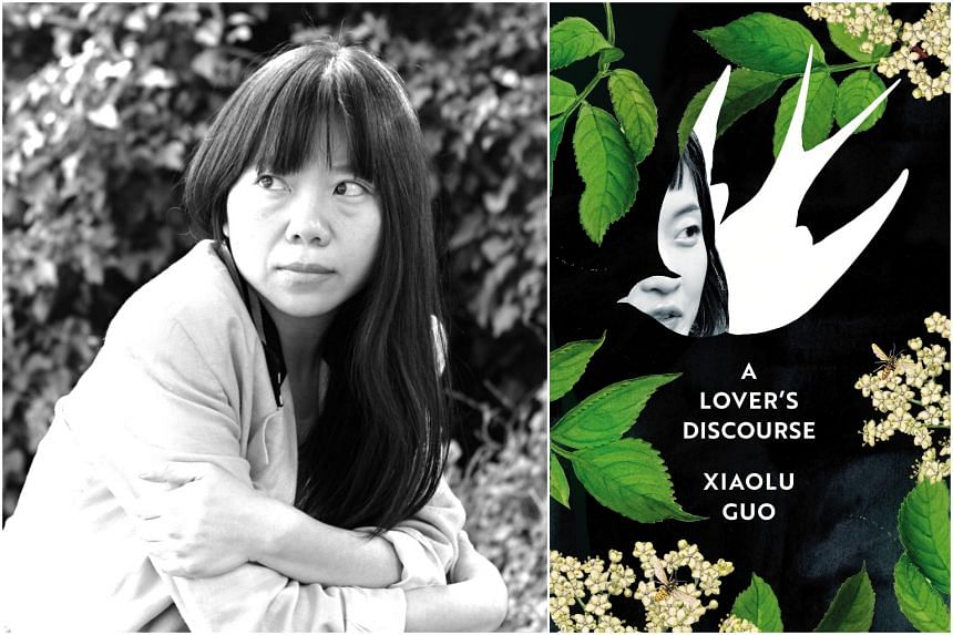 A Lover's Discourse (right) by Guo Xiaolu (left) follows a young Chinese woman doing her PhD in London.