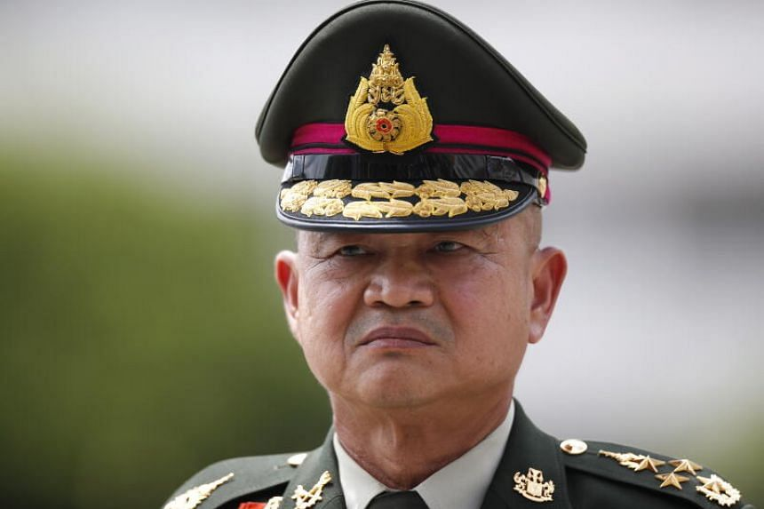 General Narongpan Jittkaewtae's appointment comes as Thailand faces the challenge of more than two months of anti-government protests.