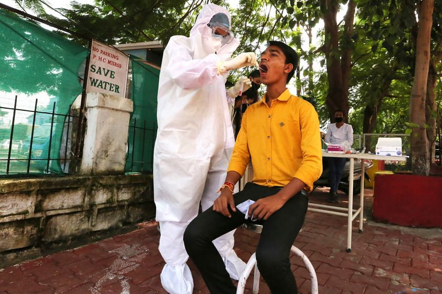 Rapid antigen tests for Covid-19 do not require a laboratory and can provide reliable results in just 15 minutes rather than hours or days, which makes them useful in villages such as Misrud in the Indian state of Madhya Pradesh.