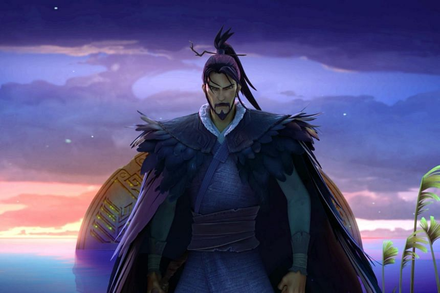 Jiang Ziya is a figure from the ancient Chinese mythological folklore epic novel Investiture Of The Gods.