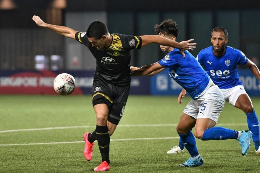 There are some positive signs with the Singapore Premier League football competition likely to restart on Oct 10.