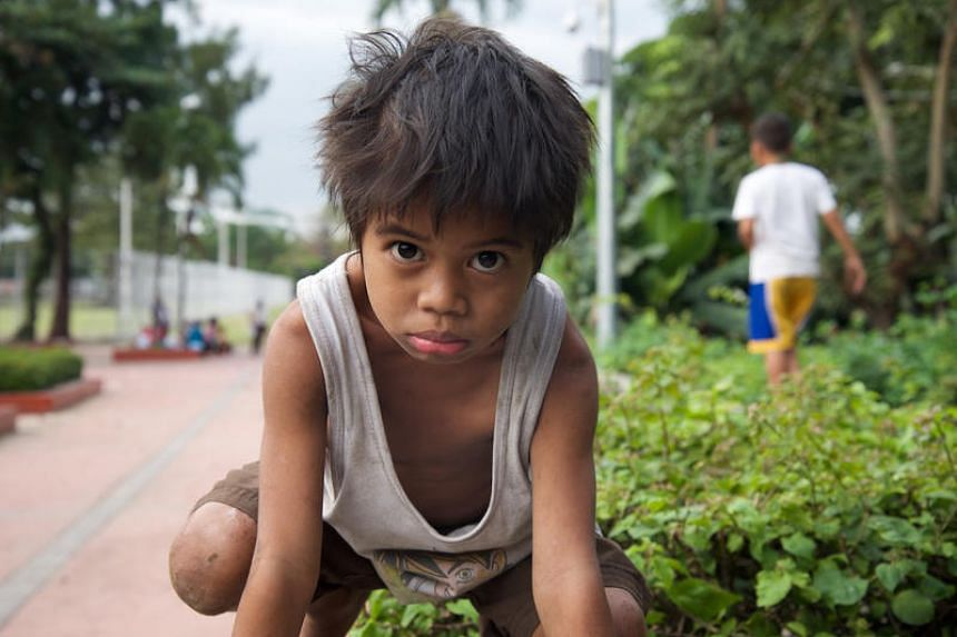 Street children in the Philippines suffer from malnutrition, as their meals largely consist of instant noodles, which they say is never enough, no matter how hard they beg.