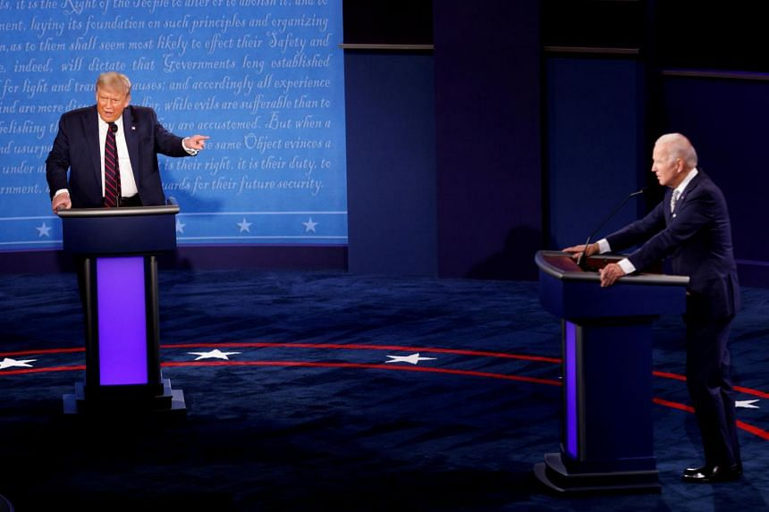 Tuesday night's presidential debate produced some shock, sadness and weariness among US allies and rivals alike.
