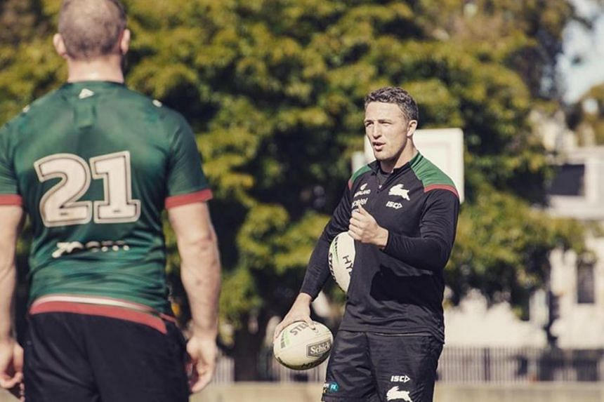 Australian police, NRL probing drug and domestic violence claims against Sam Burgess
