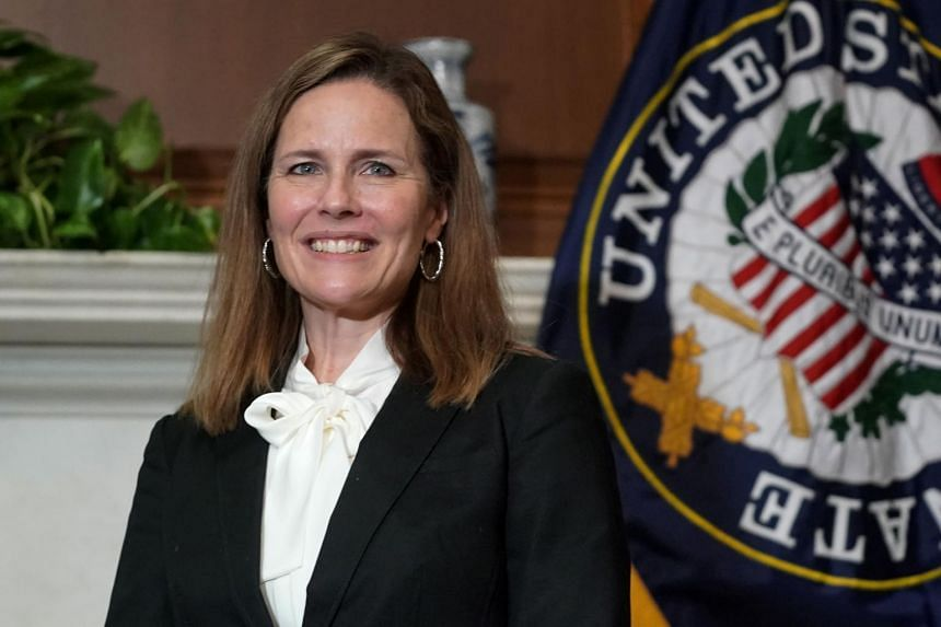 President Donald Trump has called on the Senate to confirm Amy Coney Barrett by Election Day.