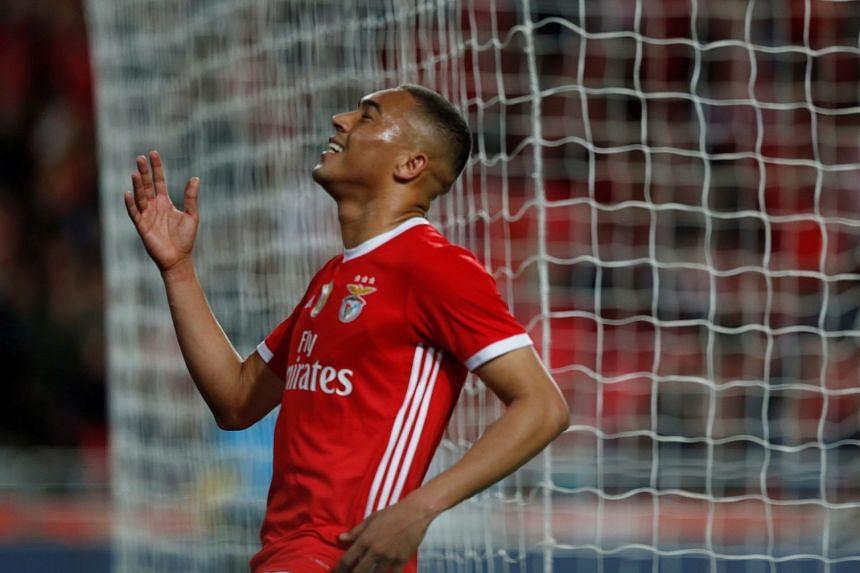 Football Spurs Sign Benfica Striker Carlos Vinicius On Season Long Loan Football News Top Stories The Straits Times