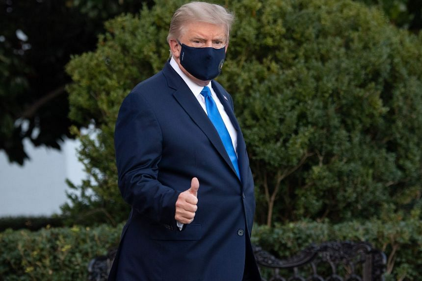 US President Donald Trump's physician said Mr Trump was being treated with the antiviral drug Remdesivir and did not require oxygen.