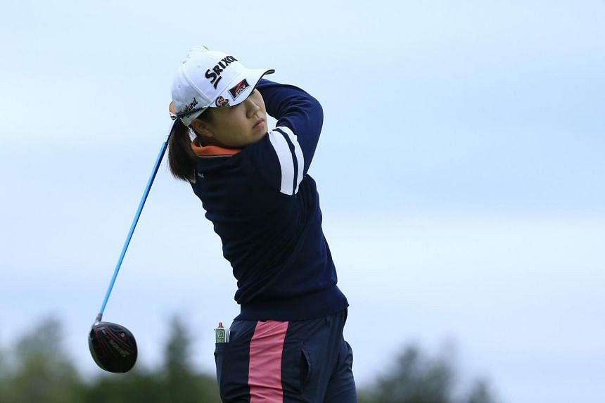 Nasa Hataoka made five birdies against a lone bogey to stand on 11-under 131 for 36 holes.