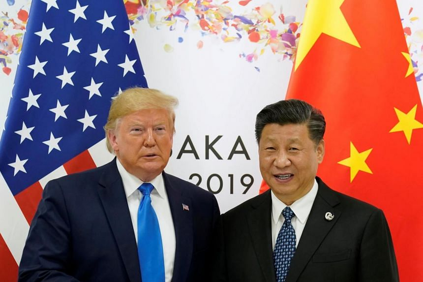 Chinese President Xi Jinping (right) sent a message to US President Donald Trump (left) and his wife Melania wishing them a speedy recovery.