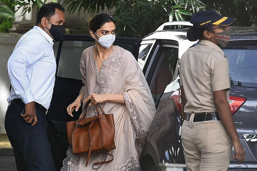 A hoarding in Mumbai last week seeking justice for actor Sushant Singh Rajput. Mr Rajput's actress girlfriend Rhea Chakraborty is among the 20 people arrested in the drug probe launched after his June 14 death. The narcotics agency has summoned 35 pe