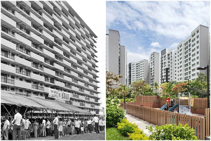 HDB homes have evolved over the years and adopted new technologies, to cater to the changing aspirations and concerns of the different generations.