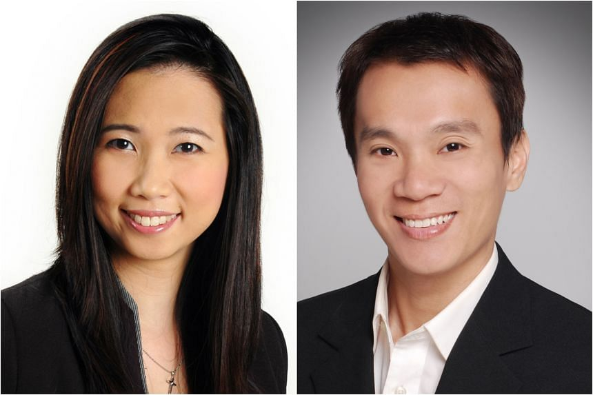 Ms Christine Sun (left), head of research and consultancy at OrangeTee & Tie, says there has been an increase in people buying bigger homes lately. Property analyst Ong Kah Seng (right) says that when the pandemic subsides, buyers from Hong Kong may