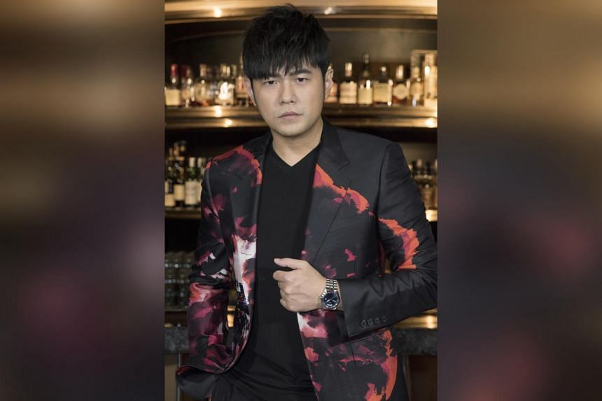 Jay Chou pairing his Tudor Royal watch with his streetwear brand Phantaci.