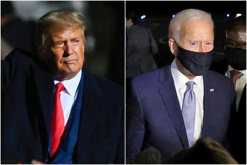 If Mr Donald Trump's situation worsens or voters are unconvinced, those on the fence and seeking a safe option may be spooked into voting for Mr Joe Biden.