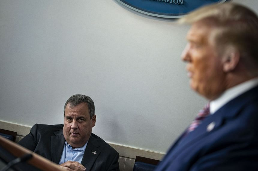 Chris Christie latest to announce positive coronavirus test
