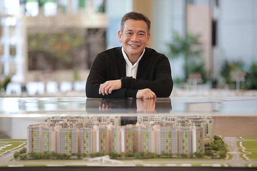 Dr Johnny Wong of the Building and Research Institute said all new ideas go through stringent testing at the HDB's building research facility in Woodlands to ensure they are technically feasible, cost-effective and comply with current building regula