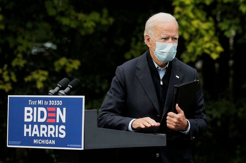 Mr Biden also had tested negative in two tests on Oct 2, 2020.