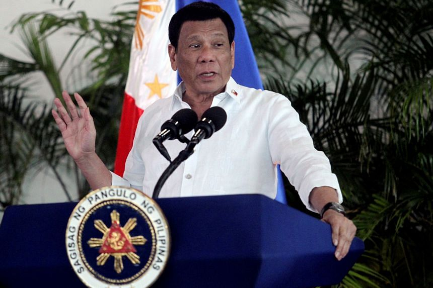 Philippine President Rodrigo Duterte's approval rating rose to 91 per cent from 87 per cent in December.